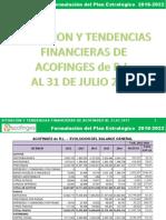 Situacion y Tendencias Financieras a Julio 2017