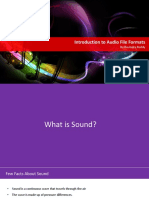 Overview of Audio Formats