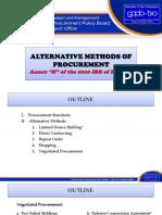 Alternative Methods of Procurement10162016