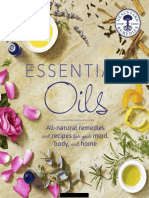 DK Essential Oils - All Natural Remedies and Recipes For Your Mind, Body and Home, 1st Edition (2016).pdf