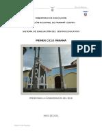 Primer Ciclo Panamá-plan de Mejoras 2014