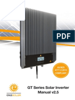 Ena Solar Inverter GT-Manual