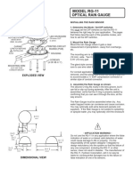 Rain Sensor (RG11) Interfacing instructions
