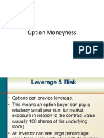 Option Moneyness