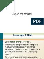 Option Moneyness