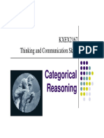 Notes- Categorical Reasoning