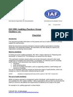 APG Checklist2015