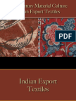 Textiles - Indian Export Textiles
