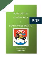 Plan Zis i Plan Cz Grad Zadar