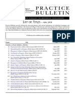 Pb List of Titles