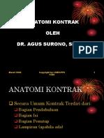 ANATOMI KONTRAK