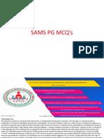 NEET PG 2018 MCQ'S - SAMS PG