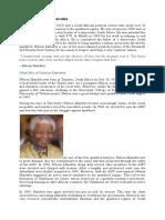 Biography Nelson Mandela