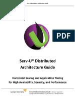 Serv-U Distributed Architecture