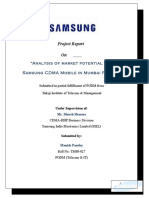 samsungprojectreportcollegecopy-100212231012-phpapp01
