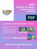 NO2 ORGANEL - Division of Labour