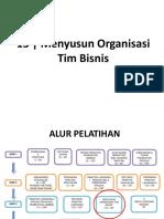 M13 Menyusun Organisasi Tim Bisnis