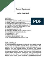 Carlos Castaneda Arta visatului