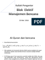 Kuliah Pengantar Blok 2016