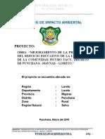 Impacto Ambiental Picuro Yacu