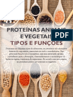 Proteínas Animais e Vegetais 22-09-2017