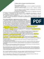 PCCR Servidores Públicos Efetivos Do Quadro Geral Do Poder Executivo