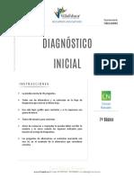 Diagnostico Inicial Ciencias 7basico