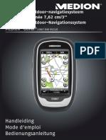 Gebruikershandleiding Medion GPS