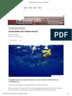 Ocean Plastic Tide 'Violates the Law' - BBC News