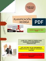 Planificacion en Reversa