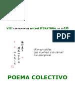18 Microliteratura Poema Colectivo