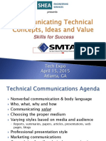 Atlanta SMTA Effective Communication Skills Presentation - Shea