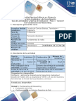 Guía de Actividades y Rúbrica de Evaluación - Paso 1 - Fundamentos de Networking