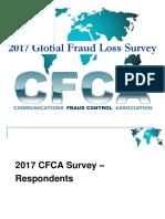 _2017 CFCA Global Fraud Loss Survey - Associate Member Guide