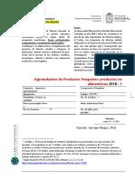 Agroindustria de Productos Pesqueros Productos No Alimenticios (1)