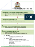 OSP Step by Step August 2016