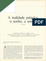 A Realidade Psíquica-o Sonho-A Sessão_Decio Gurfinkel