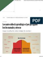 Aprendizaje_ Los Cuatro Estilos de Aprendizaje o El Por Qué Algunos Leen Los Manuales y Otros No _ Blog Laboratorio de Felicidad _ EL PAÍS