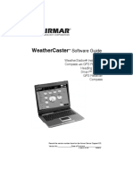 Weathercaster Software Guide