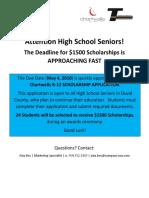 Chartwells Scholarship (2)