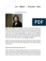 Profil Najwa Shihab