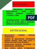 Sistem Sosial
