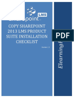 Copy Sharepoint 2013 Lms, Rem, Ccm Product Suite to a New Web-App to a Different Farm