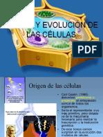 Origen y Evolucion de Las Celulas