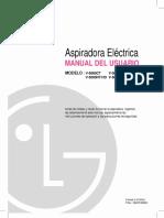 Manual Instrucciones Aspiradora LG