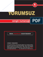 Cengiz Numanoğlu- Yorumsuz 6 Baski
