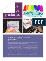 Folleto Productos Let'Splay Abril18
