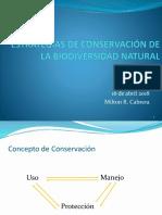 Decima Sesion Estrategias Conservacion