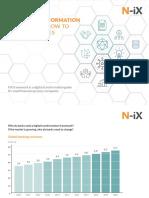 Digital Transformation Framework - How to Turn Tables on Fintechs (by N-iX)