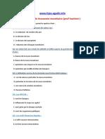 Examen de Économie Monétaire (Prof Hachimi ) (1)